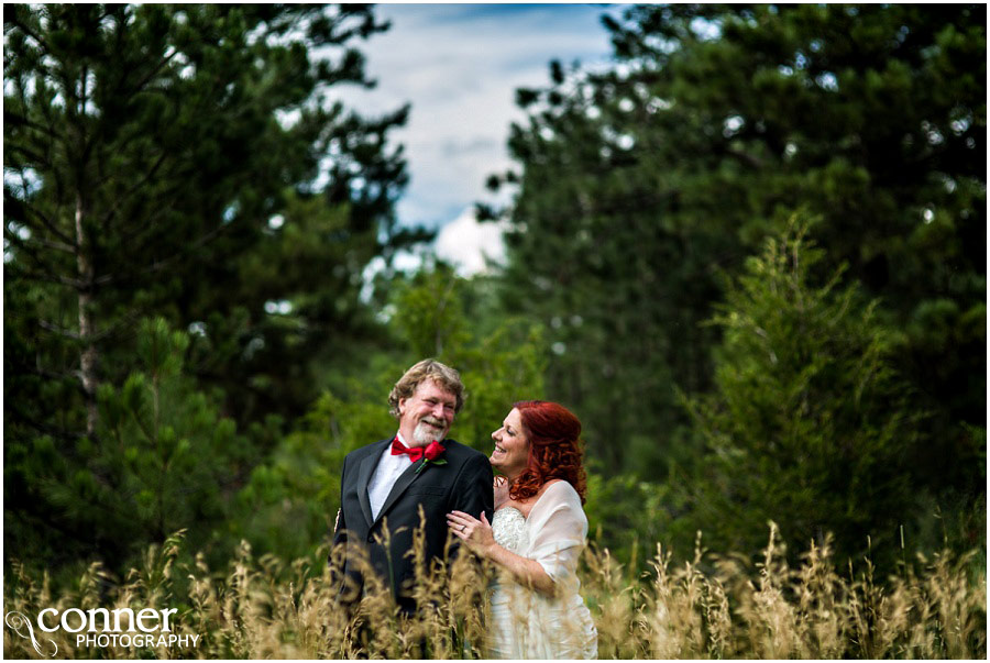 Colorado Springs Black Forest Wedding