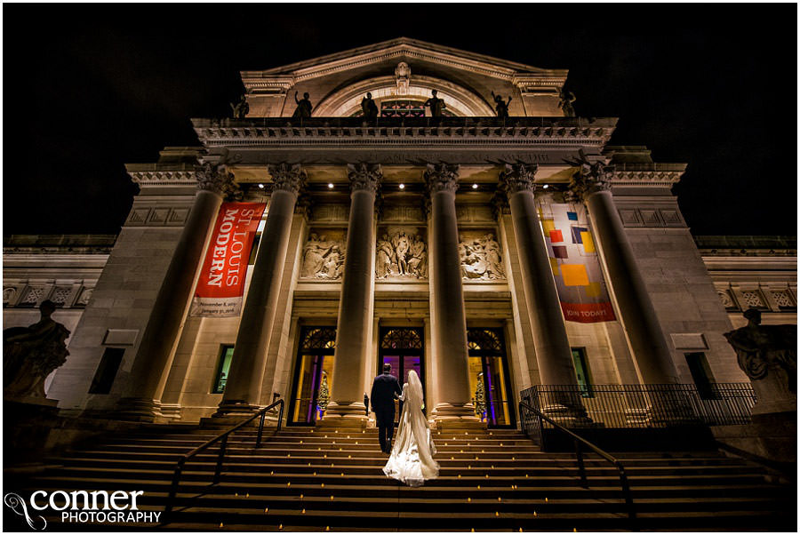 St Louis Art Museum Wedding Photos