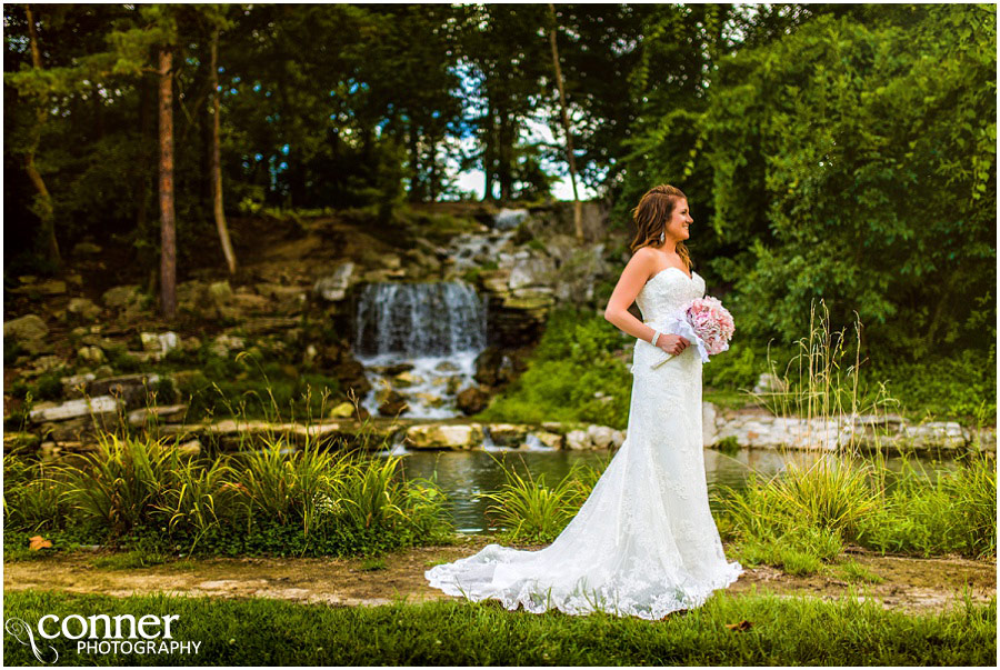 3 Forest Park Wedding St Louis Waterfall